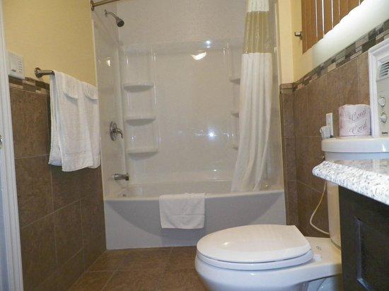 Sun Parlor Motel: BATH ROOM