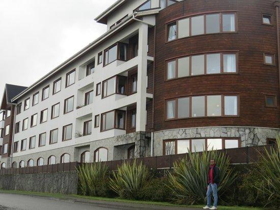 Hotel y Cabanas Terrazas Del Lago : Fachada do hotel
