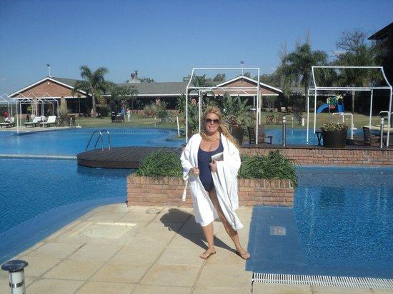 Arapey Thermal Resort and Spa: Para disfrutar...sol, caminatas, buena comida,gimnasio,bebidas...todo.