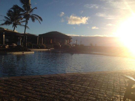 Hotel Hangaroa Eco Village & Spa: Vista de piscina