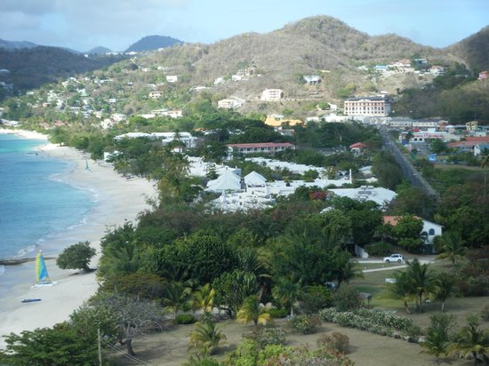 The Flamboyant Hotel & Villas: View from the room