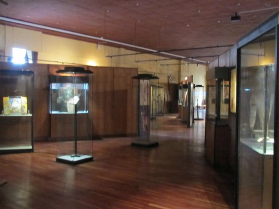 Ethnological Museum : Glimpse of 2nd floor art and Ethiopian crosses