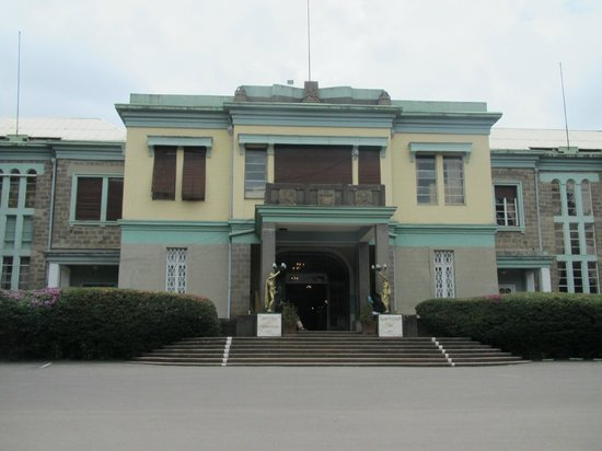 Front of Ethnological Museum.