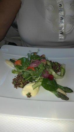 Fairmont Sonoma Mission Inn & Spa: salad