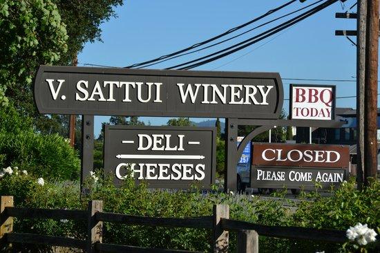 V. Sattui Winery: V. Sattui