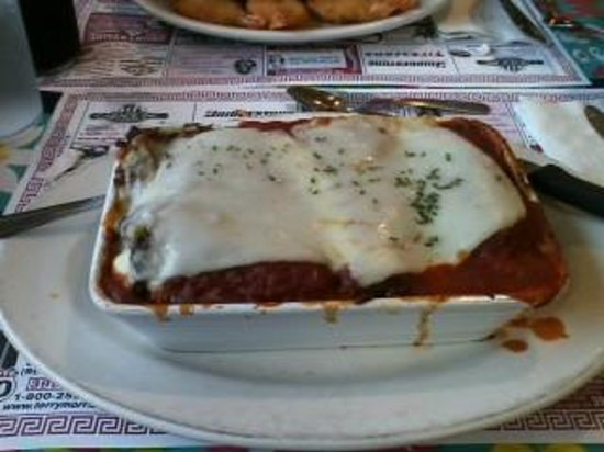 Marcellas Pizza & Deli: eggplant rolls - this was HUGE!