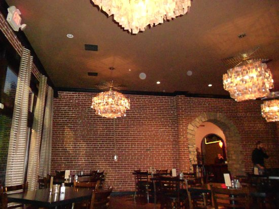 12 West: chandeliers
