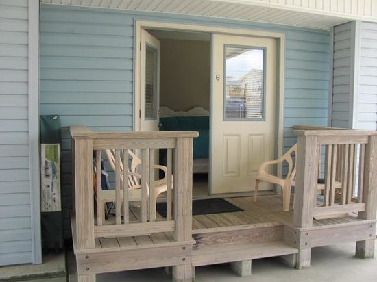 Beach Haven: our room with porch!