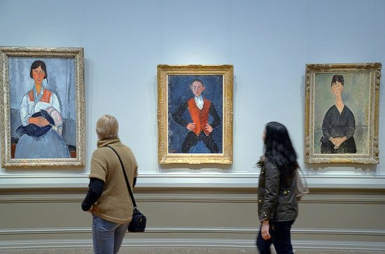 Modigliani at the National Gallery of Art