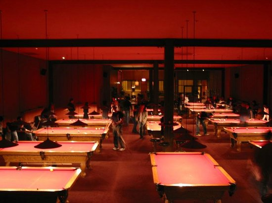 On Top Backpackers: Our very own cosy chilled pool hall
