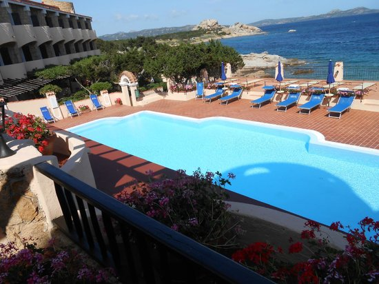 Grand Hotel Smeraldo Beach : pool view