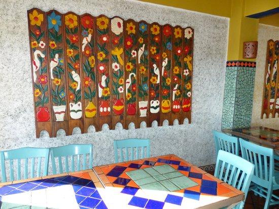 La Casa Del Pescador: Интерьер ресторана