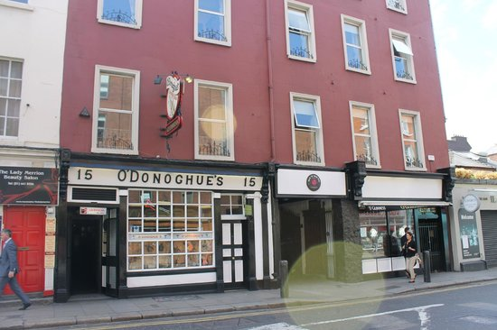 O'Donoghue's: Exterior