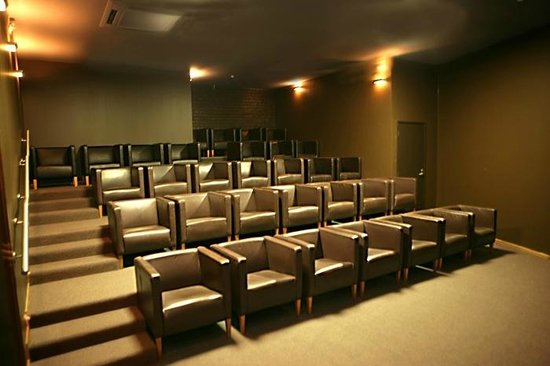 On Top Backpackers: The seating in our cinema