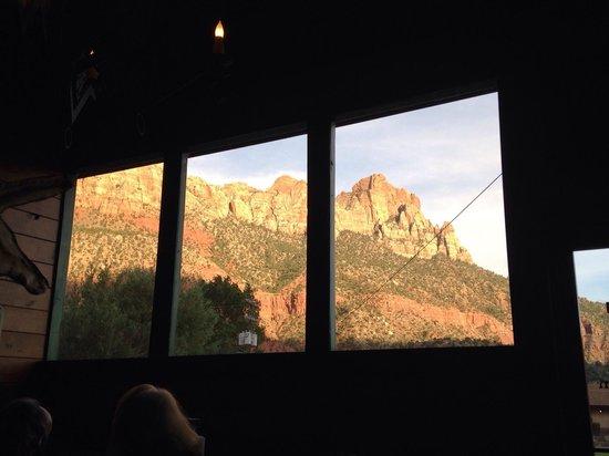 Wildcat Willies Ranch Grill & Saloon: Panorama dalla saletta
