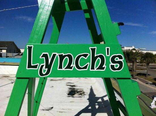 Lynch's Irish Pub: Lifeguard chair by Dunavant Decor and graphics by TRiTON design. #isupportblob