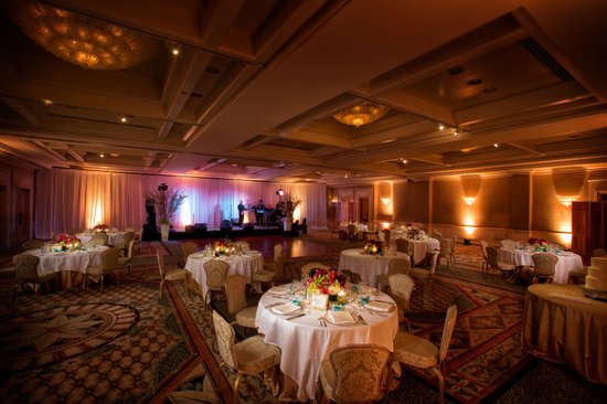 Four Seasons Resort Palm Beach Ballroom Setup For Wedding