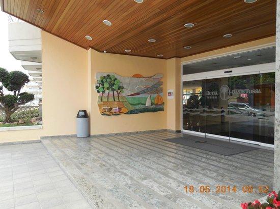 Hotel GHT Oasis Tossa & SPA: entrée