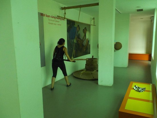 Musée des femmes du Viêt Nam : これも体験コーナー