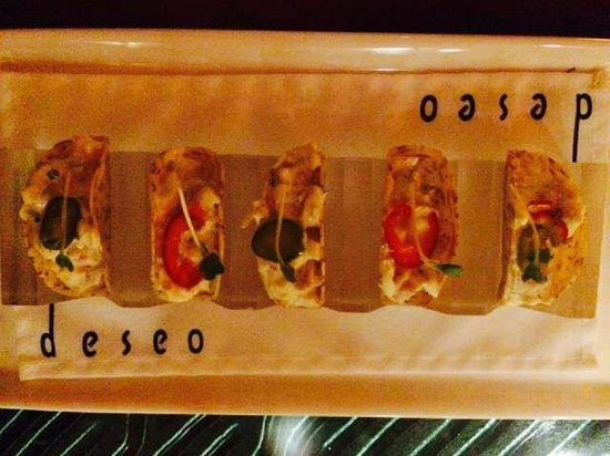 deseo at Westin Kierland Resort and Spa: Decadent Lobster Tacos
