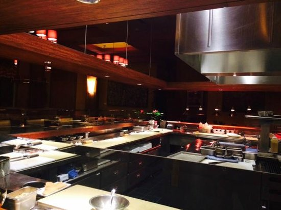 Deseo at Westin Kierland Resort and Spa : Kitchen Bar Open Concept