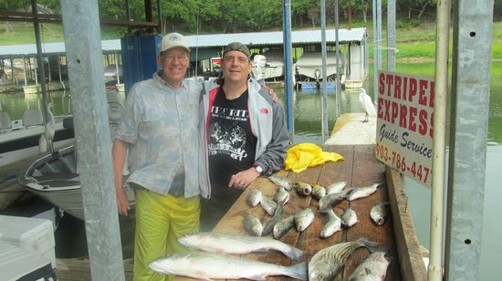 Striper Express Guide Service : Dad and I