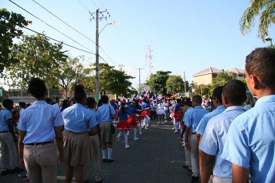 Casa Marina Beach & Reef: Parade independence day