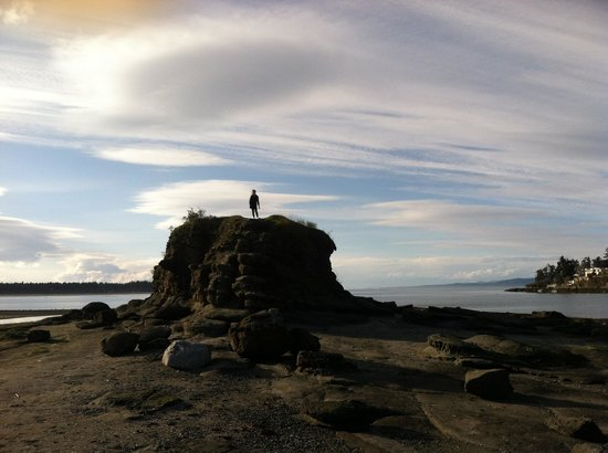 Pacific Shores Resort and Spa: Grandaughter on top of the world