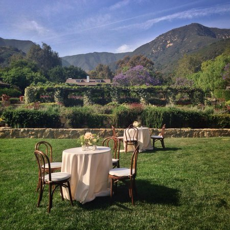 San Ysidro Ranch, a Ty Warner Property: Where the wedding ceremony was held