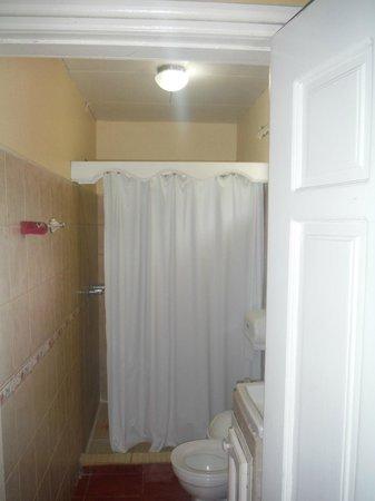 Picnic Center Hotel & Restaurant: bathroom in room#9