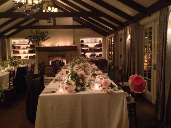 San Ysidro Ranch, a Ty Warner Property: Dinner reception