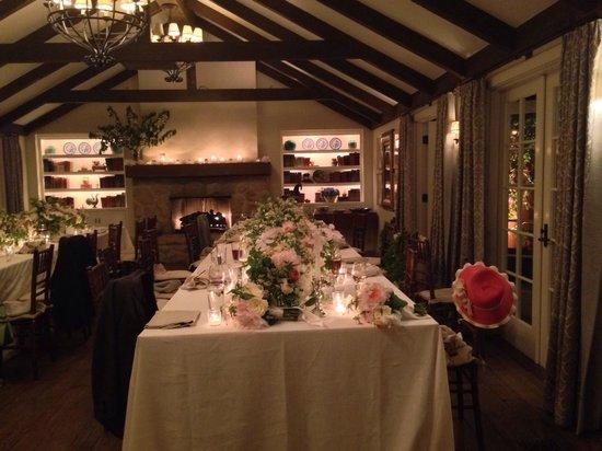 San Ysidro Ranch, a Ty Warner Property : Dinner reception