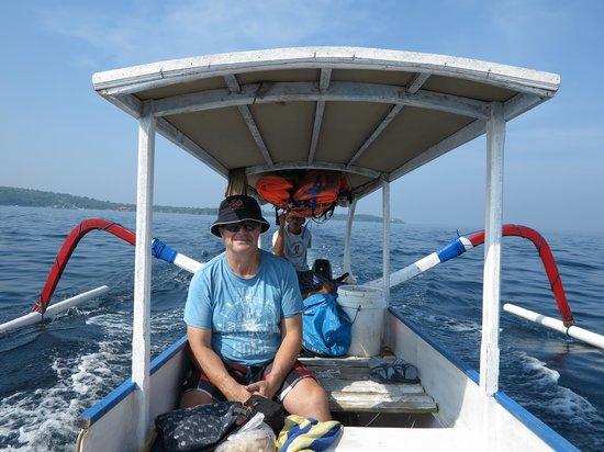 Alam Nusa Huts and Spa : Snorkelling trip