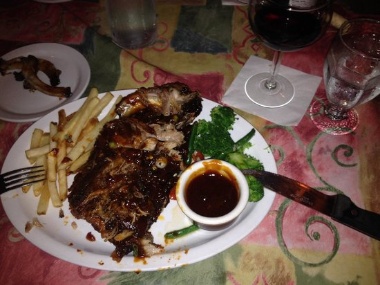 Charles Street Dinner House: Bbq back ribs