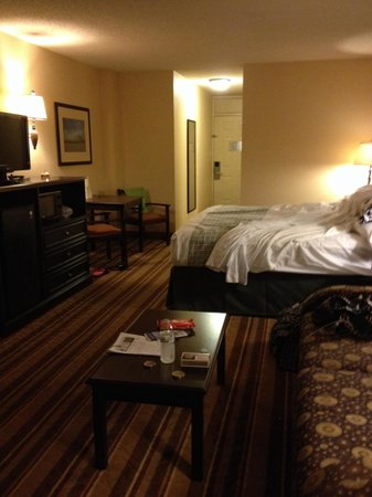 Lexington Inn & Suites: Such a nice room! I could live here!