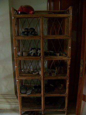 Siem Reap Garden Inn : Shoes off in hotel please