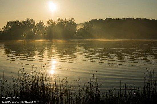 Im-Jaich Wasserferienwelt: Sonnenaufgang
