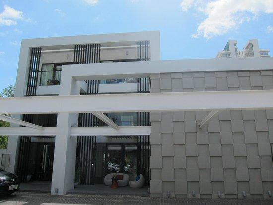 The Rock Hua Hin Resort: Entrance of the hotel