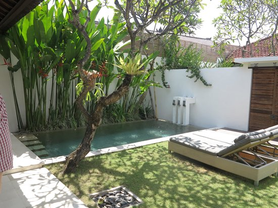 Uma Sapna : Private pool and garden