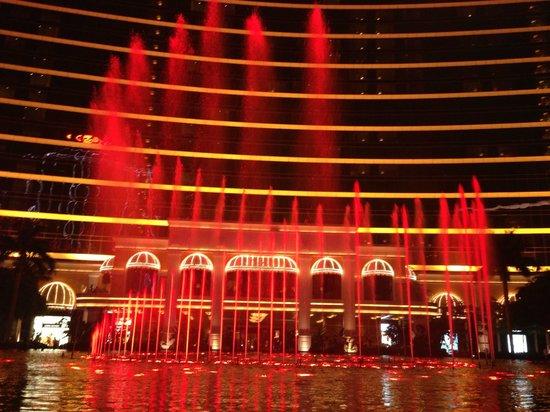Wynn Macau: 噴水ショー
