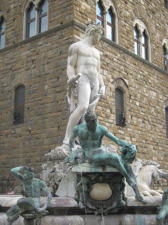 Piazza di Santa Maria Novella: Neptunes Fountain A Differenet View