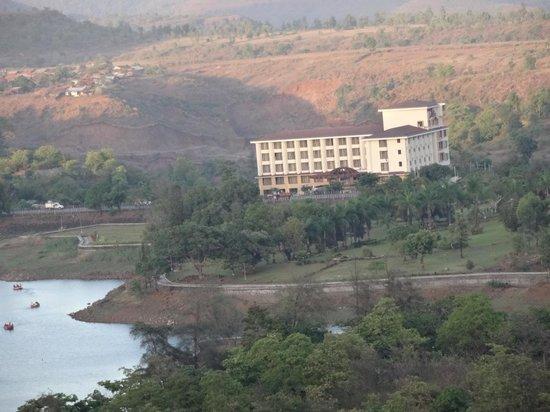 Aakar Lords Inn : Hotel from Ropway