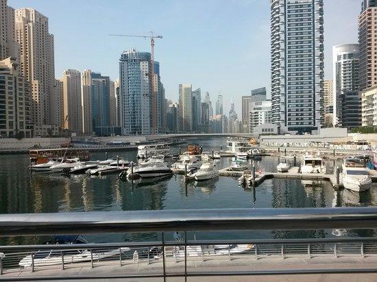 Lotus Hotel Apartments & Spa, Dubai Marina: Marina View