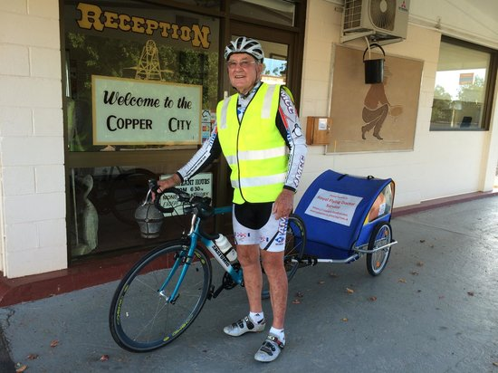 Cobar Copper City Motel: Ron Truman