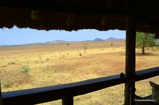 Apoka Safari Lodge: Porch View