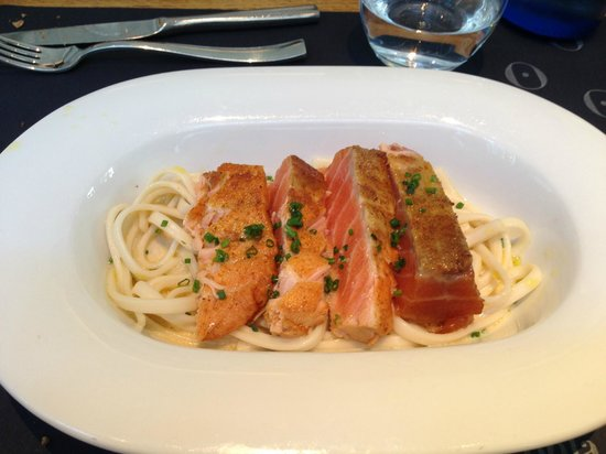 Hotel Ohla Barcelona : lunch at ohla gastronomic bar - pick the lunch menu!