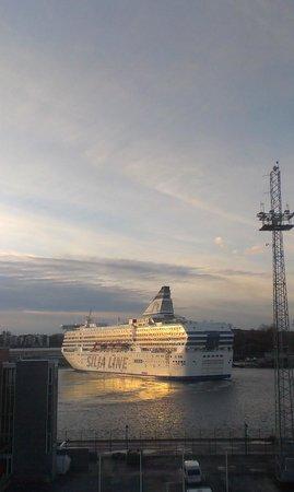 Scandic Grand Marina: вид из окна