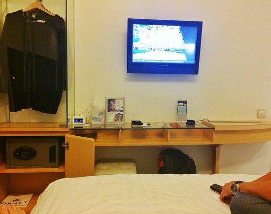 Dorsett Mongkok Hong Kong: Comfortable room