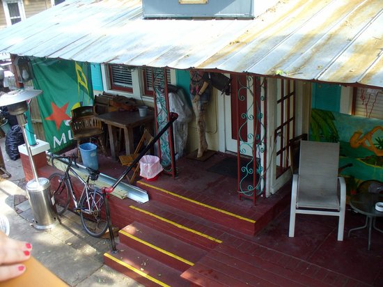 Gram's Place BnB GuestHouses\Hostel and Music: entrance to cottage within the compound