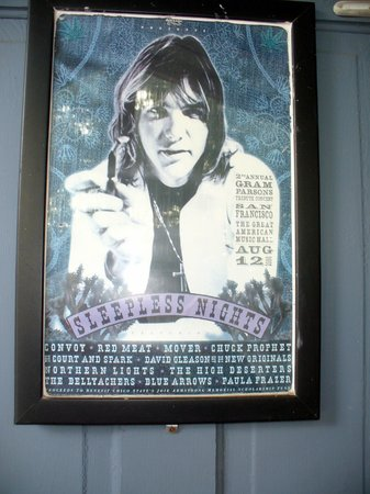 GP Gram's Place Hostel : Gram Parsons of The Byrds